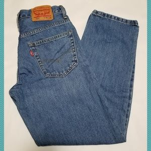 Levi's 550 Light Wash Relaxed Fit Jeans